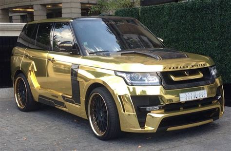 gold range rover gold plated range rover pixshark com images