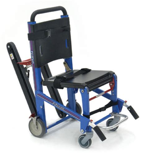 Temporary Chair Lift For Stairs by Ferno S Ez Glide 174 W Track Abs Panels Penn Care Inc