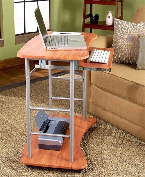 new rolling computer laptop desktop portable mobile desk