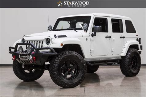 Jeep Wrangler Unlimited Fastback Hardtop Starwood Motors 2015 Jeep Wrangler Supercharged Unlimited