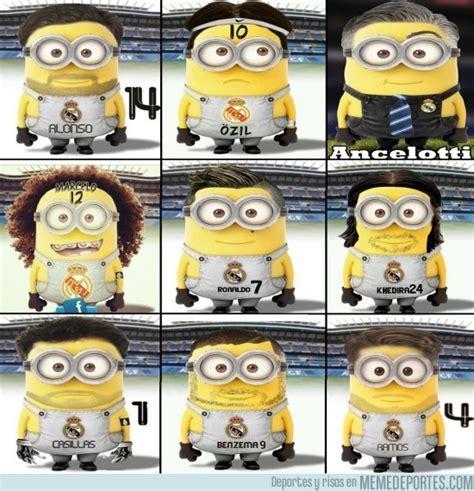 imagenes de minions real madrid memedeportes minions del real madrid