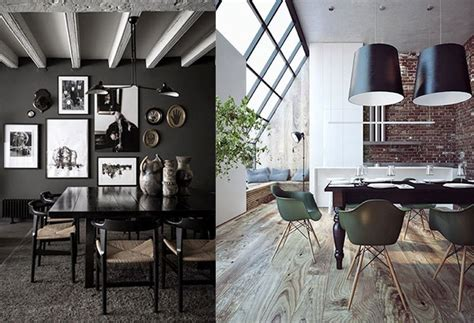 mans guide  decorating  cool dining room