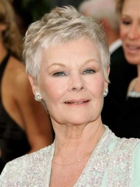 images of short hair cuts for older women showing the back short haircuts for older women