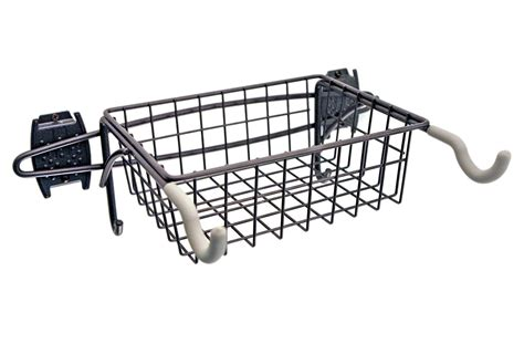 Bike Rack With Basket by Grid Or Wall Mount Bike Rack And Basket In Wall Bike Racks