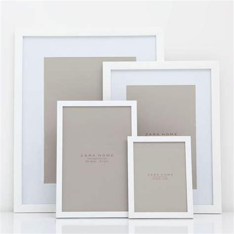 Cadre Deco 834 by Cadre Uni Blanc Zara Home Shopping Cadres