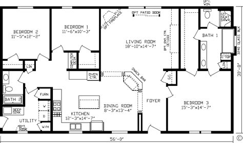 modern designanch house floor plans open plan free with basement ranch style home remarkable saratoga slide show www silvercreekhomesinc