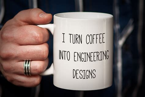 gift for architect engineer mug gift for engineer i turn coffee into engineering