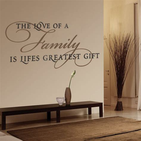 living room wall decals 17 best ideas about family wall decor on pinterest