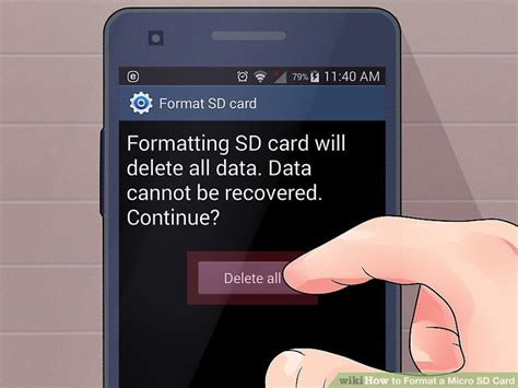 format micro cd 4 ways to format a micro sd card wikihow