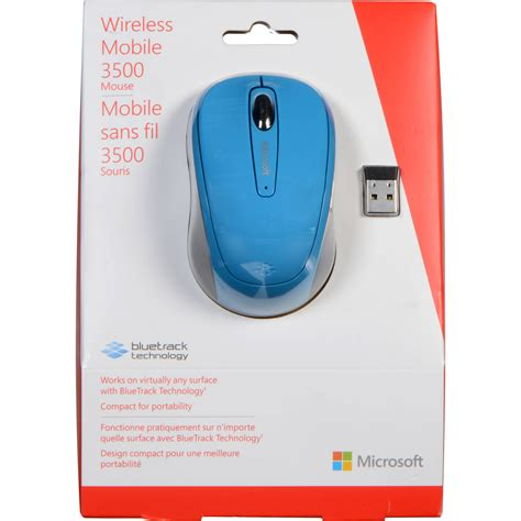 mobile mouse 3500 used microsoft wireless mobile mouse 3500 cyan blue gmf