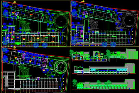 Museum Floor Plan Dwg by Museums Galleries Autocad Projects Projects Dwg