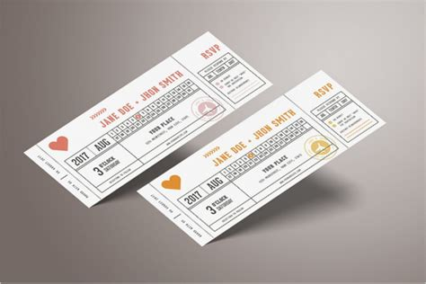 ticket mockup psd templates free premium designs