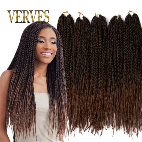 ombre senegalese twists braiding hair ombre crochet braid hair 20inch 70grams pcs small