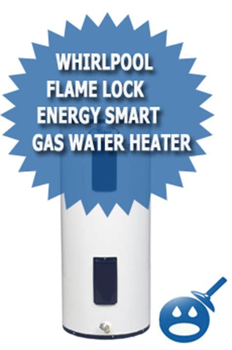 whirlpool lock energy smart gas water heater review media