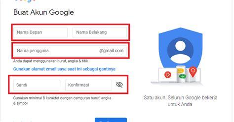 panduan  buat akun gmail  informasiajib
