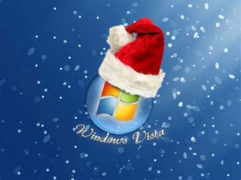 Christmas Wallpaper For Vista | christmas desktop wallpaper windows vista