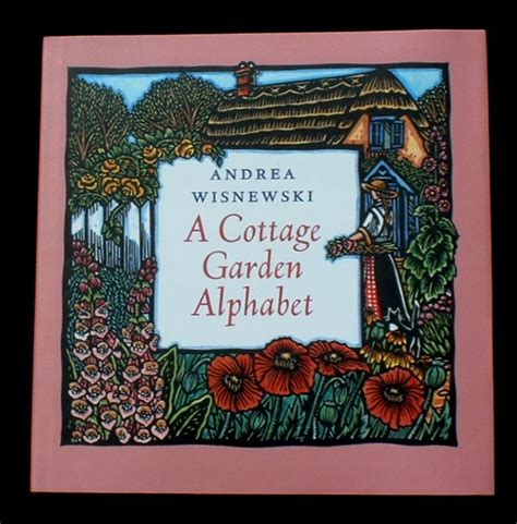 cottage garden book a cottage garden alphabet a alphabet books book