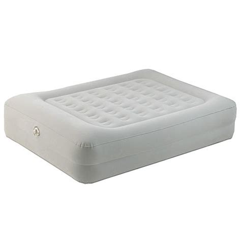 aero beds at walmart aerobed raised queen air bed mattress w pillow new86123