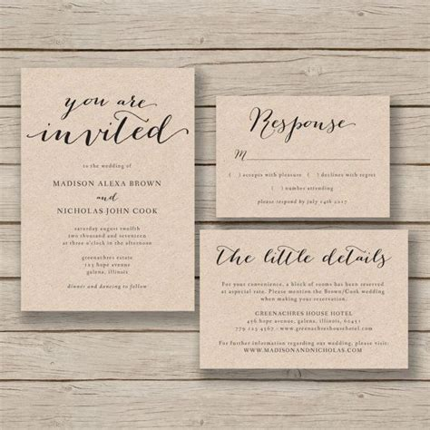 Introducing Our Downloadable Invites by The 25 Best Wedding Invitation Templates Ideas On