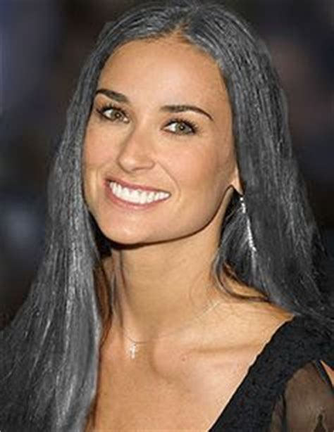 letting hair go gray in your forties young celebrities with gray hair
