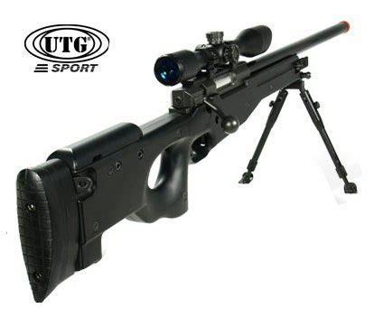 Kaos Airsoft Dual Sniper utg shadow ops bolt airsoft rifle black airgun depot