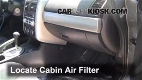 Bad Cabin Air Filter by Cabin Filter Replacement Mitsubishi Galant 2004 2012