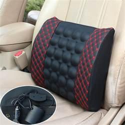 car lumbar support electric lumbar vibration support
