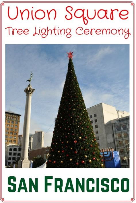 Union Square Christmas Tree Lighting 2017 Event Details