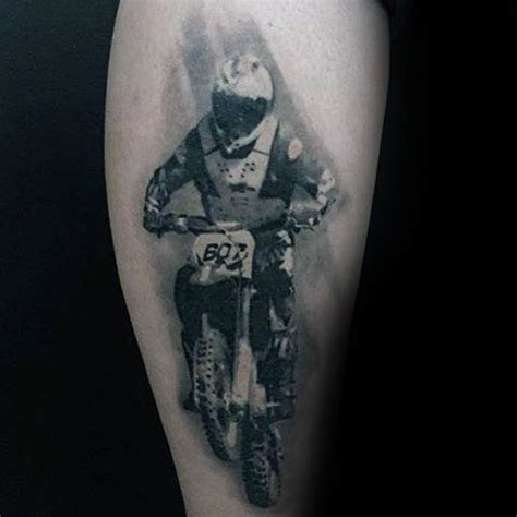 motocross tattoos 70 motocross tattoos for dirt bike design ideas