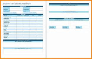 11 performance evaluation template excel job resumed