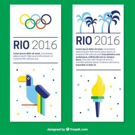 moderne spiele modernen olympischen spiele banner in flaches design