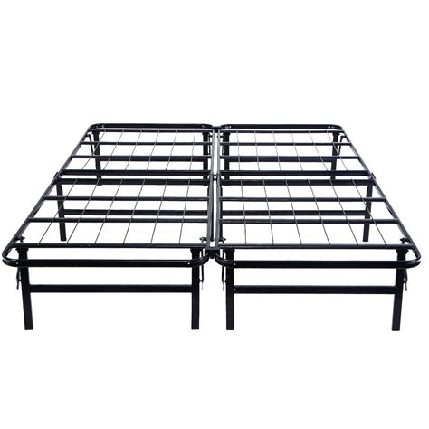 Foldable Metal Bed Frame Size Foldable Platform Metal Bed Frame Beds Bed Frames Beds Accessories Furniture