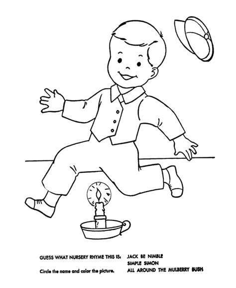 preschool coloring pages jack and jill jack and jill coloring page coloring home