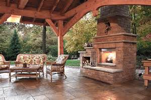 Outdoor Fireplace Ideas by Inspiring Outdoor Fireplace Ideas Quiet Corner
