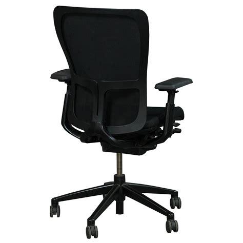 haworth zody task chair haworth zody mesh back used task chair black national