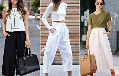 Celana Monokrom inspirasi celana kulot yang akan membuat