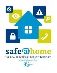 safe at home security seminars launched bluebird care