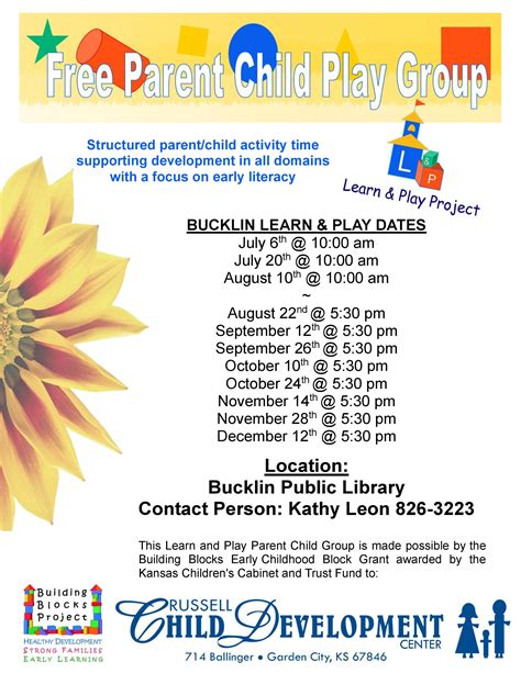 learn play information bucklin public library