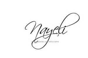 nayeli name tattoo designs