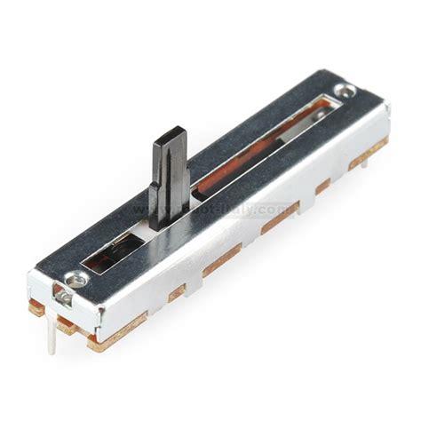 Saklar Switch Medium 3 Pin 2 Per slide pot medium 10k linear taper from sparkfun for