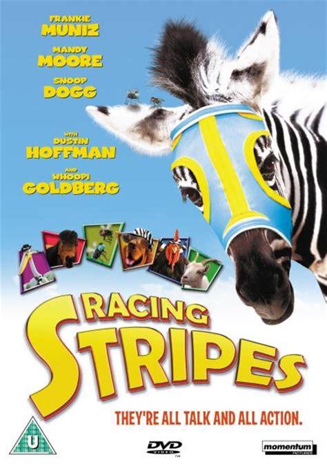 film disney zebra racing stripes dvd zavvi