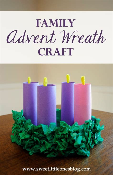 advent wreath crafts for sweet ones advent wreath craft