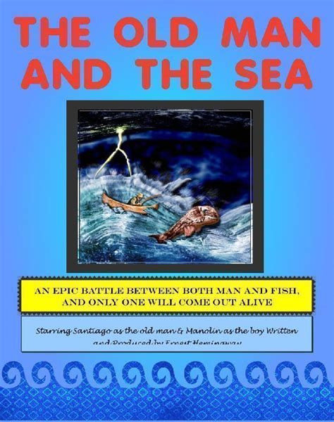 and the sea book report make a and the sea poster book report project