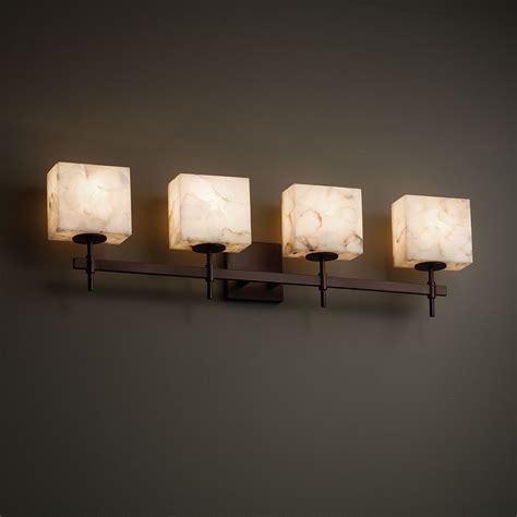 Justice Design Bathroom Lighting Justice Design Alr 8414 Union Alabaster Rocks 4 Light Bathroom Lighting Jus Alr 8414