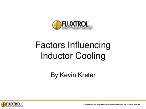 factors that influence inductance of an inductor induction coil thermal analysis and factors influencing cooling