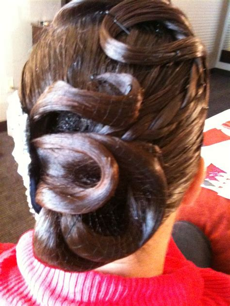 swing dance hair 1000 images about ballroom hairstyles on pinterest