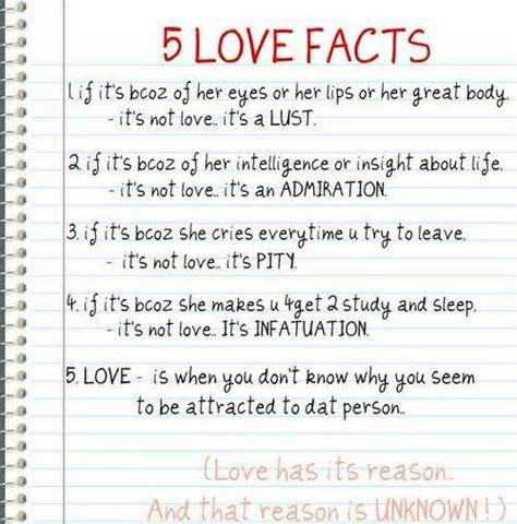 facts about i facts about love quote picture