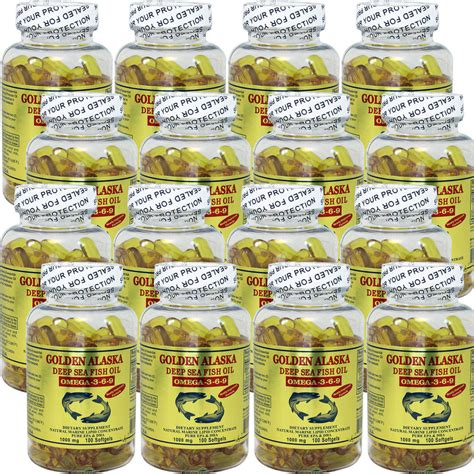 Alaska Omega 3 6 9 200 Butir 12 x golden alaska sea fish omega 3 6 9 100 caps