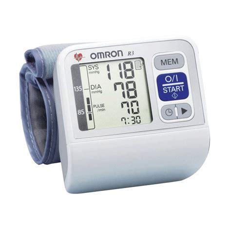 Tensimeter Omron Hem 6200 jual omron hem 6200 automatic wrist blood pressure monitor alat kesehatan harga