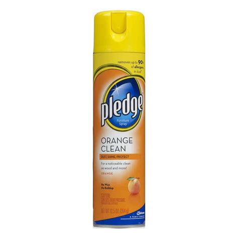 Pledge Furniture by Shop Pledge 17 Oz Furniture Cleaner At Lowes